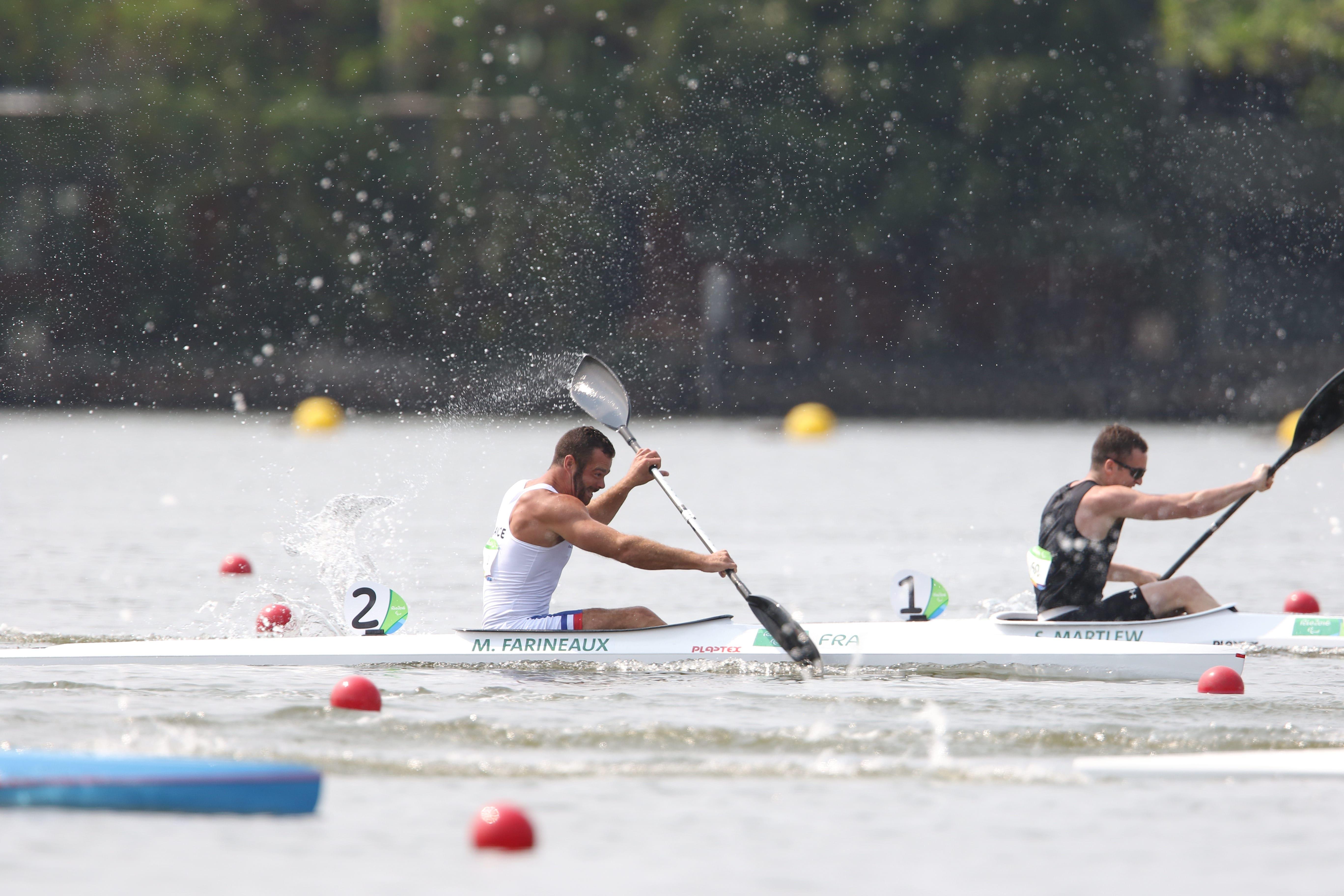 Para Canoe   Rio 2016   M. Hartmann 1 Min